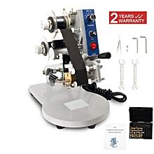 Semi-Automatic Date Marking Machine Ribbon Coding Manual Hot Stamp Printer 220V Date Code Printing Machine for sale  Nigeria