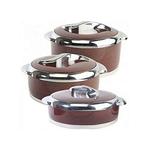 Sweet Casserole Food Warmer - Set Of 3