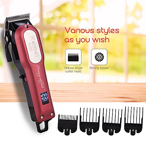 Electric Hair Clipper Haircut Kit Sharp Blade Hair Trimmer Rechargeable  Hair Styling Tools