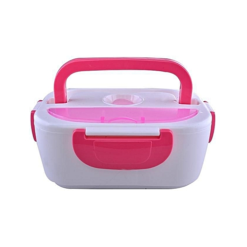 Multi-Functional Electric Lunch Box - Pink