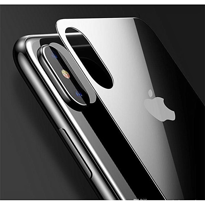 finest selection 04f7a baa8e IPhone X Front + Back Protector Full Cover Glass Edge Glas Full Screen 5D  Tempered Glass