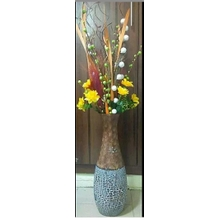 Flower Vase With Flower - Brown  sc 1 st  Jumia Nigeria & Vases and Vessel- Buy Online | Pay On Delivery | Jumia Nigeria
