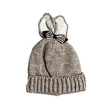 f129879b5d2 Hiaojbk Store Knitted Butterfly Rabbit Ears Baby Toddler Winter Warm Hat  Knitted Cap Kids BG-