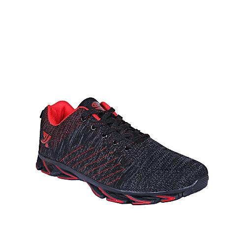 Ruimeite Unisex Sporty Sneakers - Black, Red