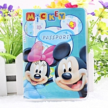 Used, Multifunctional PVC Passport Cover Travel Mickey And Minnie Storage Bag ID Card Holder Document Package Cover for sale  Nigeria