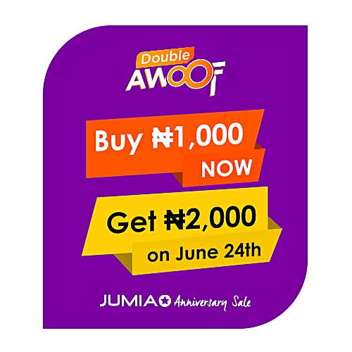 Double Awoof 1,000 for 2,000 JumiaPay Credit