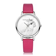 50eae782030 Zetenis LVPAI Watches Women Quartz Wristwatch Clock Ladies Dress Gift  Watches HOT -Hot Pink