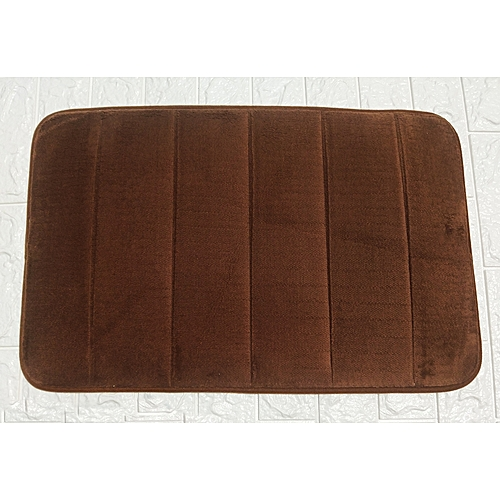 Bathroom And Bedroom Soft Mat Floor Rug Non Slip Solid Vertical Stripes Carpet