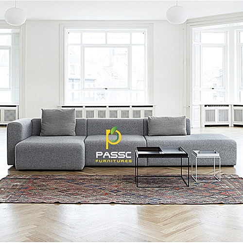 Passc Corner Unit Couch + Free Ottoman Delivery To Lagos State Only