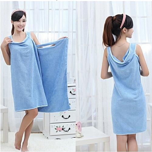 Wearable Towel Bath Spa Shower Swimming Wrap Soft Magic Washcloths
