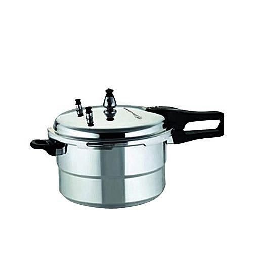 7-Litre Pressure Cooker - Silver
