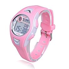 ffc570d42a5 Jiuhap Store Children Boys Girls Swimming Sports Digital Wrist Watch  Waterproof Pink-Pink