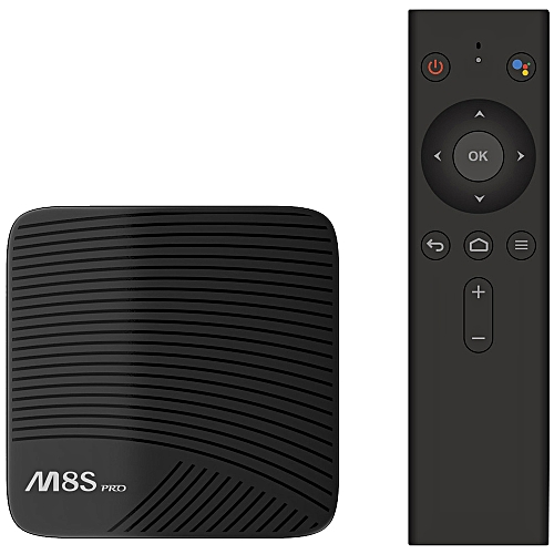 Mecool M8S PRO L 4K TV Box Amlogic S912 Cortex - A53 CPU Bluetooth 4.1 + HS