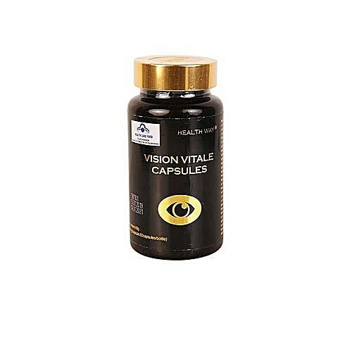 Vision Vitale Capsules- Cure For Glaucoma, Cataract,myopia Etc