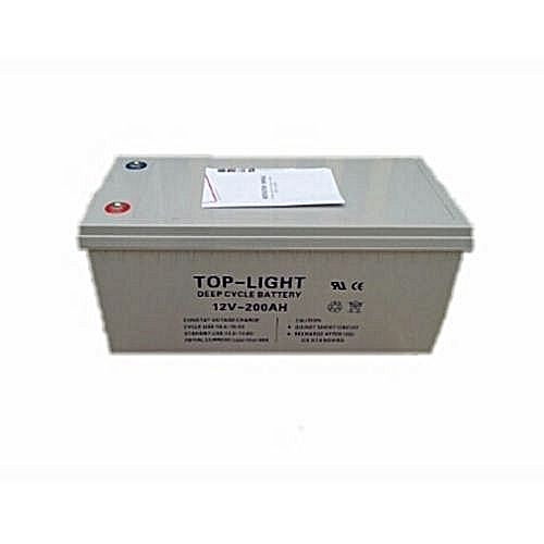 Top Light Deep-Cycle Gel 12v 200AH Inverter Battery