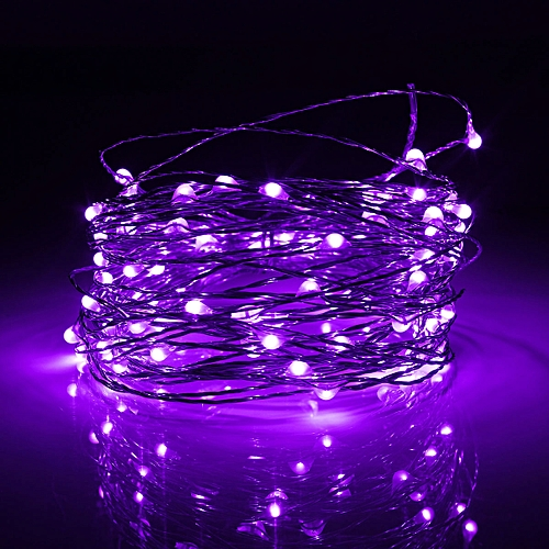 10M USB Power LED Copper Wire Strip Fairy Light String Party Waterproof USA RGB Pink Purple Warm White White Green Blue Yellow Red