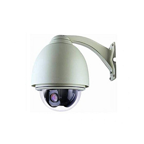 Explosion Proof 480TVL Outdoor - Indoor 18X Zoom Speed Dome PTZ CCTV Camera With Remote Control