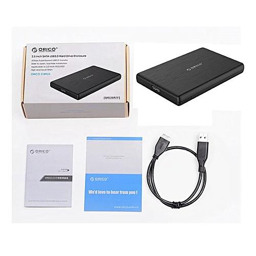 Orico2577u3-bk2.5 Inch Usb3.0ssd Hard Disk Box