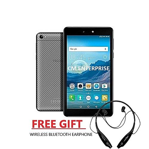 Droipad 7D 7 Inch - (1GB ,16GB) Android 7.0 Nougat, 5MP + 2MP Dual SIM Tablet + Bluetooth Earphone
