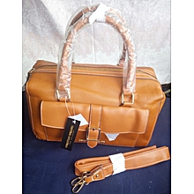 Classical Women Pure Leather Hand Bag