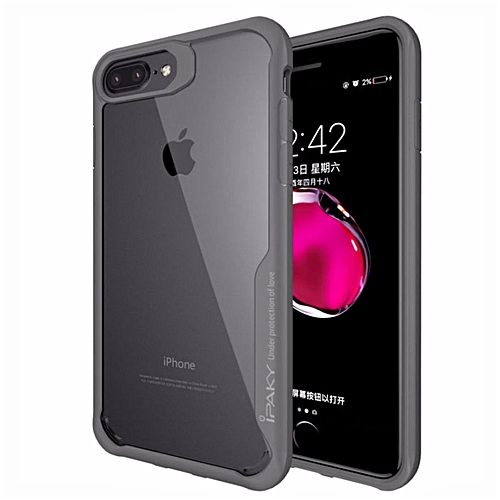 d058d9df46 Apple IPhone 7 Plus Case , IPaky TPU + Hard PC Transparent Coque Ultra Thin  Protective