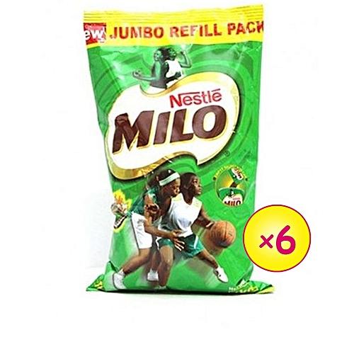 Milo Hot Chocolate Refill - 1kg X 6