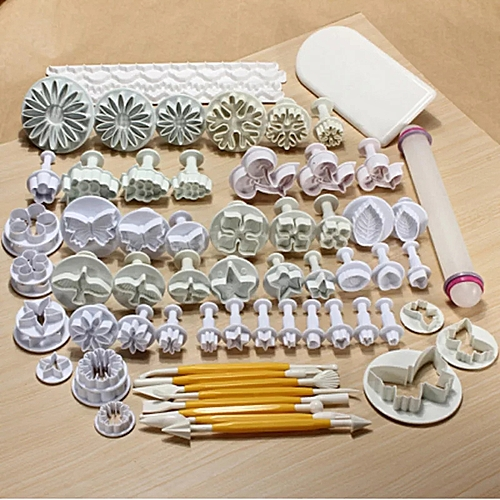 68pcs/set Flower Cake Fondant Tool Cake Decorating Tool