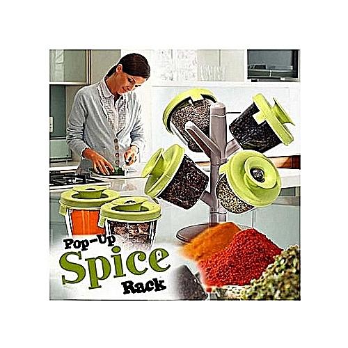 Pop Up Spice Racks