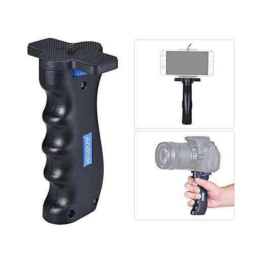 "Andoer Cross-shaped Mini Universal Handheld Grip Handheld Stabilizer Holder With 1/4"" Screw Mounts For GoPro Sony Xiaomi Action Camera DV Camera Light Camcorder For Tripod Monopod"