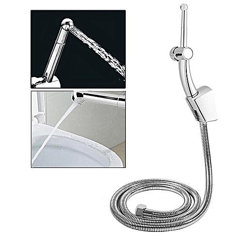 Multi-functional Bathroom Handheld Adjustable Bidet Sprayer Hose Wall Holder (Set 1)