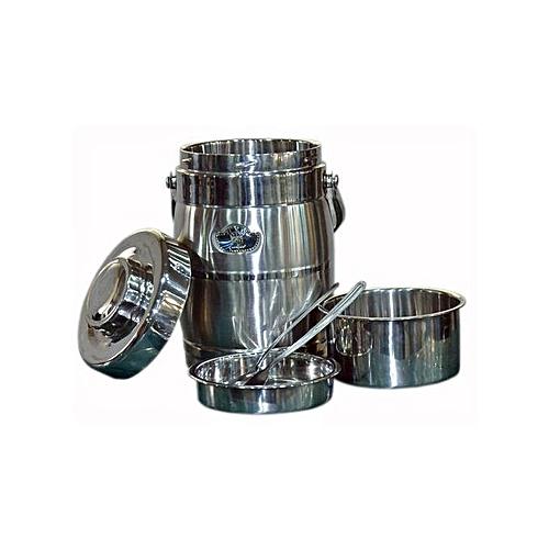 Stainless Steel Food Flask - 5 set