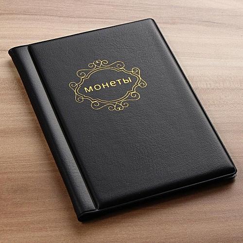 120 Coins Holder Collection Storage Bag Collecting Money Penny Pocket Album Book Black