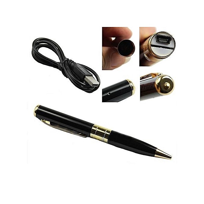 Mini HD DVR Pen Pinhole Camera Video Recorder Camcorder