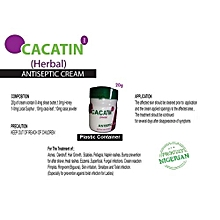 Cacatin Herbal Antiseptic 20g Container Cream