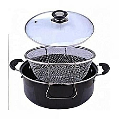 Fryer - Manual Deep Fryer- Non-stick