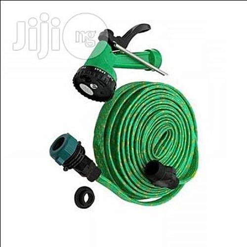 Cash Wash/Garden Water Hose (Green)
