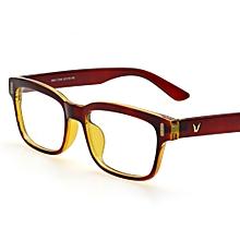 6c9ed0b1f80e Retro Rectangle Eyeglasses Optical Frames Clear Lens Black Glasses Leopard  Square Eyewear Spectacle Frames For Women