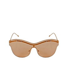 a05c7c524c Fashion Accessory Unisex Rimless Oversized Outdoor Sunglasses Colored Lens  Gift-2
