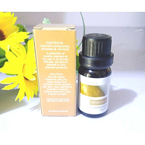 White Musk Scented Oil For Humidifiers And Oil Burners