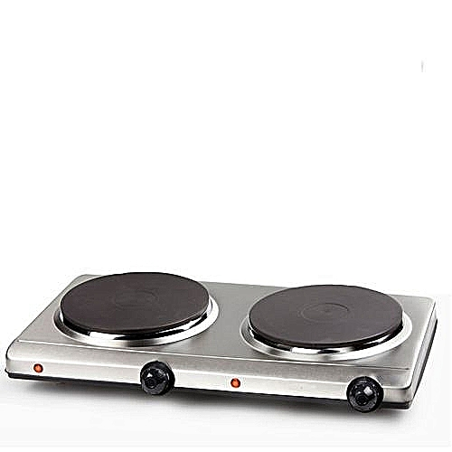 Electric Cooker Hot Plate-Double Burner Stainless