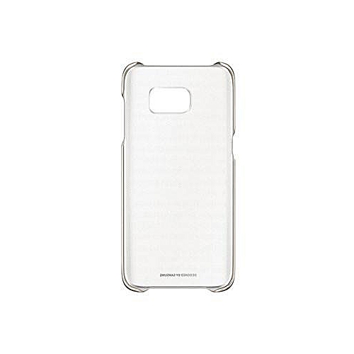 best service c5481 d1782 Cover For Galaxy S7 Edge Clear Case - Gold/Clear