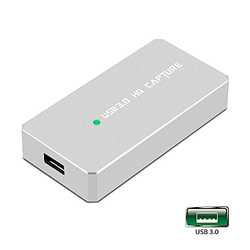 Y&H OBS HDMI Game Capture Card USB3.0 1080P HD Game Record Support Live Streaming Fit For PS3 PS4 Xbox One 360 Wii U,Compatible With Windows Linux Os X System