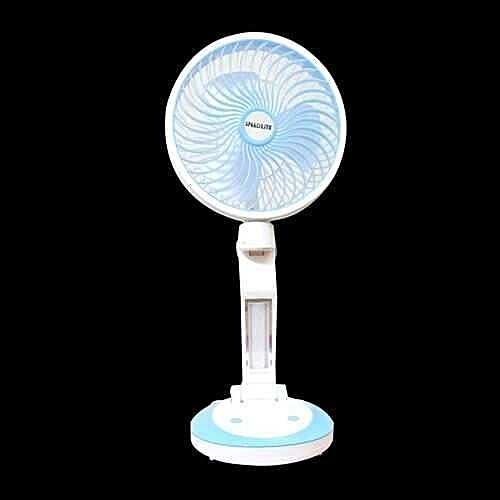 Multifunctional Rechargeable Mini Desk Fan With USB & LED