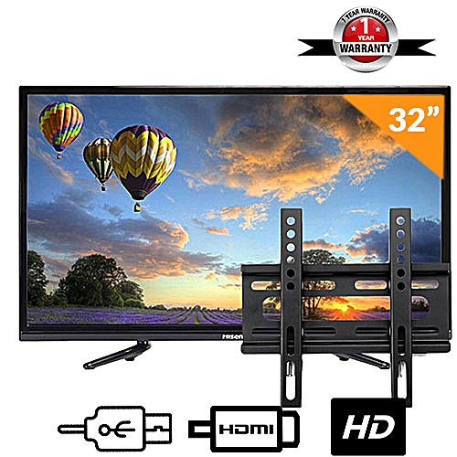 Hisense 32 Inch Hd Led Tv Free Wall Bracket Hx32n2176h Black