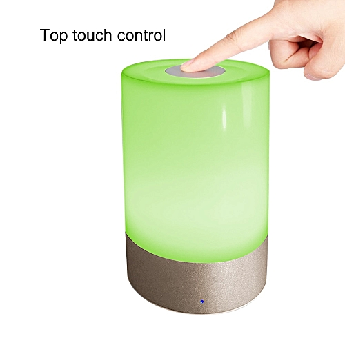 MANBUY LED Cylinder Dimmable Atmoshere Touch Senor Control Reading Camping Lanterns Valentine Romantic Atmosphere Color Gradient