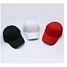 61c15a73 Face Cap - RED,BLACK AND WHITE 3 IN 1.unsex Caps
