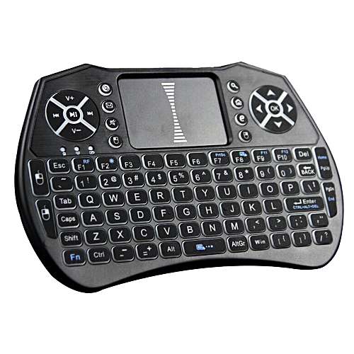7a1d2c90e04 Generic Backlit 2.4GHz Wireless Keyboard Air Mouse Touchpad Handheld Remote  Control Backlight For Android TV BOX Smart TV PC Notebook
