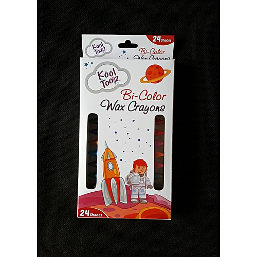 Bi-Color Wax Crayon