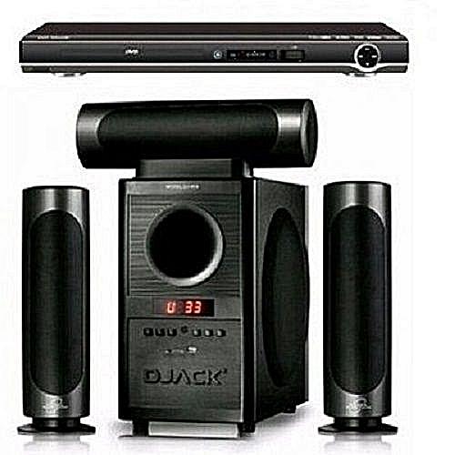 Djack HomeTheatre Bluetooth System Dj-903+Powerful DVDPlayer