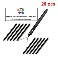 Graphic Drawing Pad Standard Replacement Black Pen Nibs For Wacom Bamboo Intuos Cintiq Tablet Pen (Pack Of 20) for sale  Nigeria
